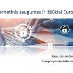 Europos pamokos. R.Juknevičienė: Kibernetinis saugumas